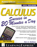 Calculus Success in 20 Minutes a Day PDF
