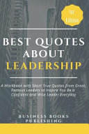 Best Quotes about Leadership