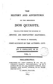 The History and Adventures of the Renowned Don Quixote,1