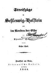 Streifzüge in Schleswig-Holstein und im Norden der Elbe: Band 1