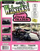 WALNECK'S CLASSIC CYCLE TRADER, JULY 1995