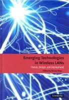 Emerging Technologies in Wireless LANs PDF