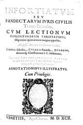 Digestum vetus seu pandectae iuris civilis: Infortiatvm Sev Pandectarvm Ivris Civilis Tomus ...