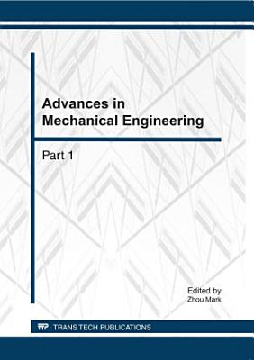 Advances in Mechanical Engineering PDF
