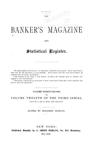 Download The Bankers Magazine Book