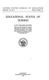 Educational Status of Nursing: Issues 1-9