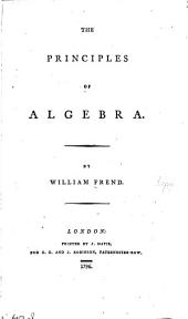 The principles of algebra