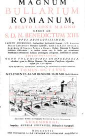 A Clemente XI. Ad Benedictum XIII.: Volume 8