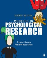 Methods in Psychological Research PDF