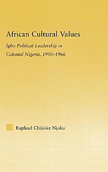 African Cultural Values PDF