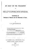 An Essay on the Philosophy of Self consciousness PDF