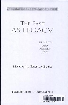 The Past as Legacy PDF