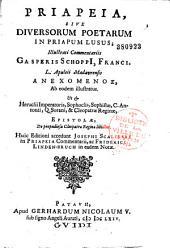 Priapeia sive diversorum poetarum in priapum lusus