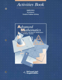 Advanced Mathematics  Grades 11 12 Precalculus With Discrete Mathematics and Data Analysis Activities Book