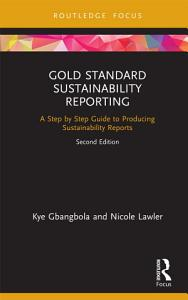 Gold Standard Sustainability Reporting Book