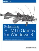 Releasing HTML5 Games for Windows 8 PDF