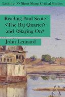 Reading Paul Scott PDF