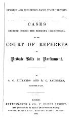 Cases Decided During the Sessions, 1890-91-92-93-94