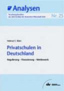 Privatschulen in Deutschland PDF