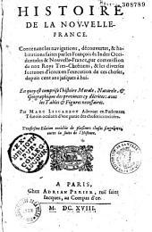 Histoire de la Nouvelle-France... Par Mac Lescarbot ...