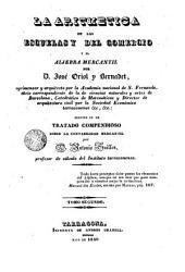 La Aritmetica de las escuelas y del comercio y el algebra mercantil, 2