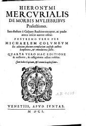 De morbis muliebribus praelectiones