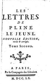 Les lettres de Pline le jeune [tr. by L. de Sacy].