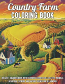 Country Farm Coloring Book PDF
