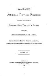 United States Trotting Association Register: Volume 13