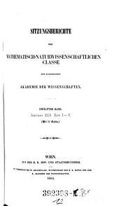 Sitzungsberichte der Mathematisch-Naturwissenschaftlichen Classe der Kaiserlichen Akademie der Wissenschaften