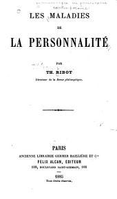Les maladies de la personnalité