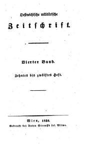 Östreichische militärische Zeitschrift: Band 4