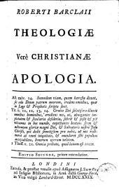 Theologiae vere christianae apologia