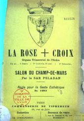 La rose + croix: organe trimestriel de l'ordre