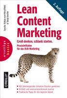 Lean Content Marketing PDF