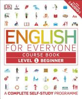 English for Everyone Course Book Level 1 Beginner PDF