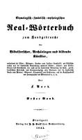 Etymologisch symbolisch mythologisches Realw  rterbuch zum Handgebrauche f  r Bibelforscher  Arch  ologen und bildende K  nstler PDF