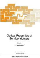 Optical Properties of Semiconductors PDF