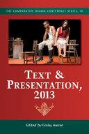 Text & Presentation, 2013