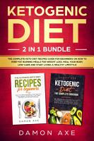 Ketogenic Diet 2 In 1 Bundle PDF
