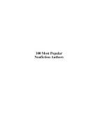 100 Most Popular Nonfiction Authors PDF
