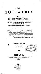 La Zooiatria: con figure, Volume 1