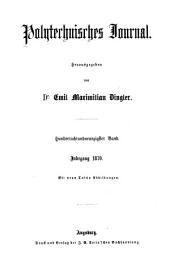 Polytechnisches Journal: Band 198