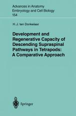 Development and Regenerative Capacity of Descending Supraspinal Pathways in Tetrapods PDF