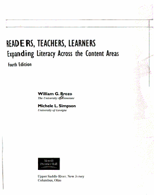 Readers  Teachers  Learners PDF