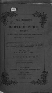 Magazine of Horticulture, Botany, and All Useful Discoveries and Improvements in Rural Affairs: Volume 9, Issue 98