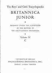 The Boys And Girls Encyclopaedia Britannica Junior  Book PDF