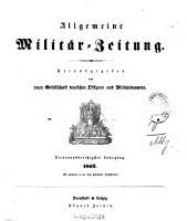 Allgemeine Milit  r Zeitung PDF