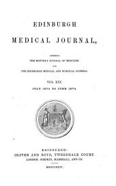 Edinburgh Medical Journal: Volume 11; Volume 19