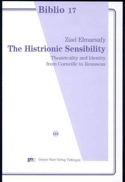 Download The Histrionic Sensibility Book